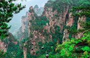 เที่ยวภูเขาเทียนจื่อ (Tianzi Mountain Nature Reserve), จางเจียเจี้ย